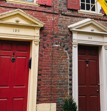 philadelphia house front
