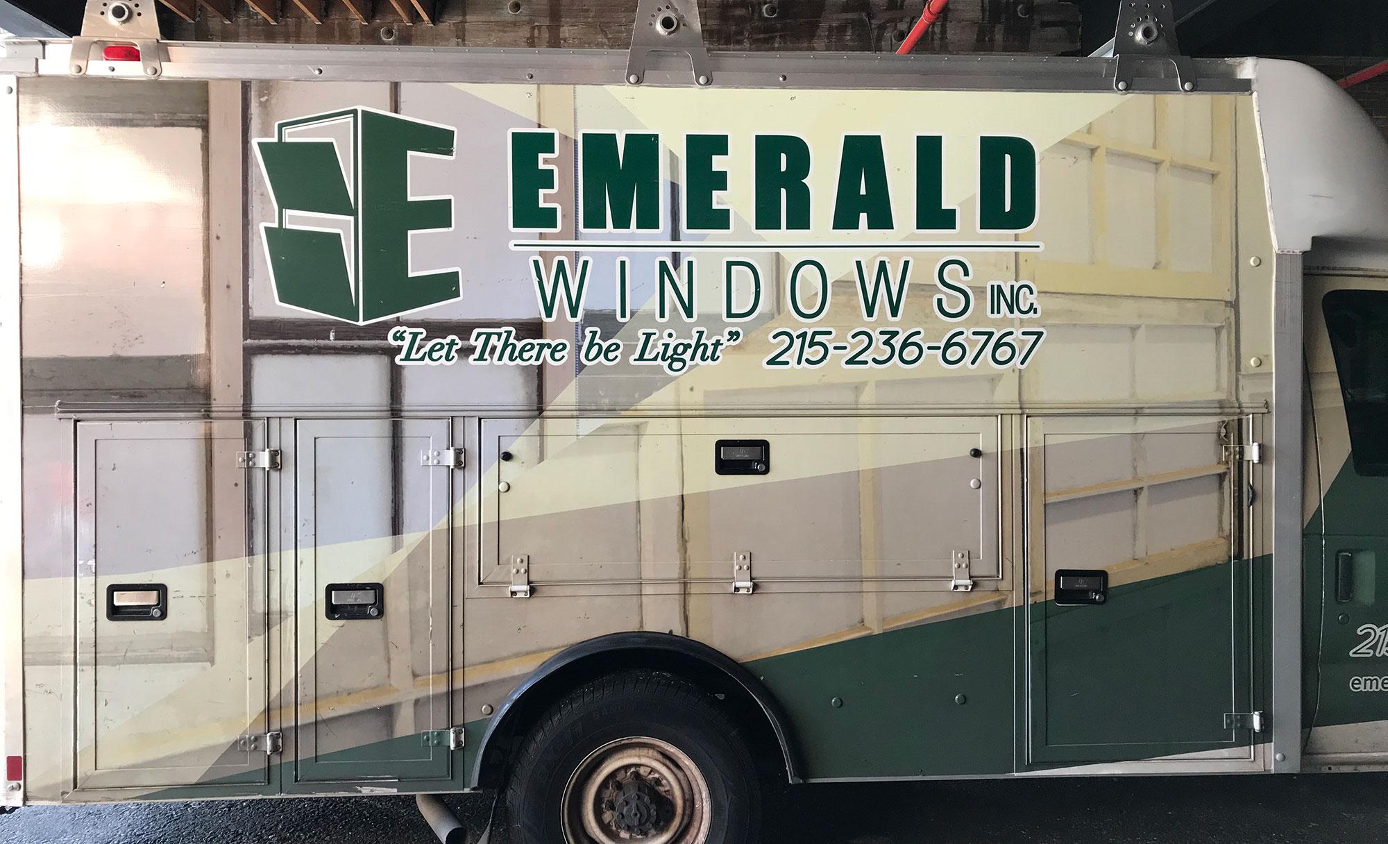 emerald windows truck